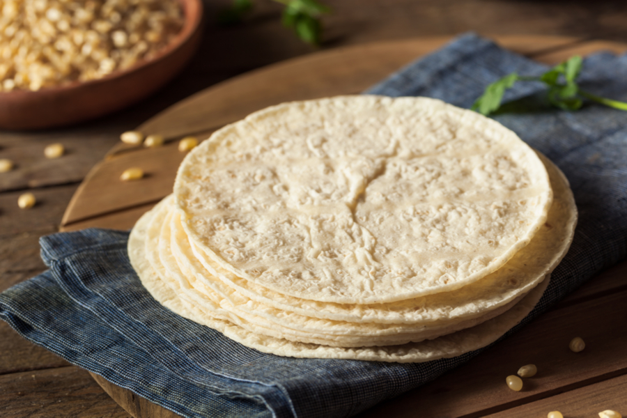 Homemade White Corn Tortillas A 3 Ingredient Gluten Free Recipe
