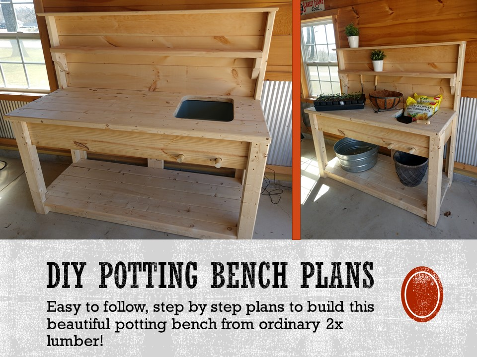 Lakewood 3 Person Swing, The Perfect Diy Potting Bench Strong Elegant And Easy To Make