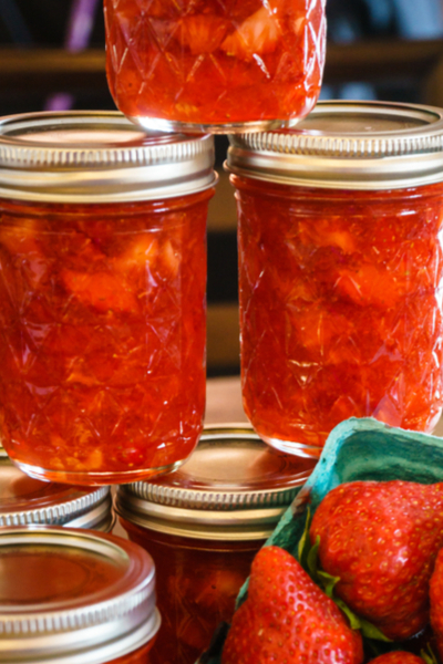 30 minute strawberry jam