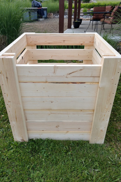 single compost bin