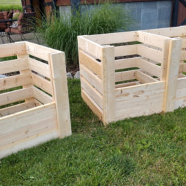 How To Create The Perfect DIY Compost Bins – Attractive & Inexpensive!