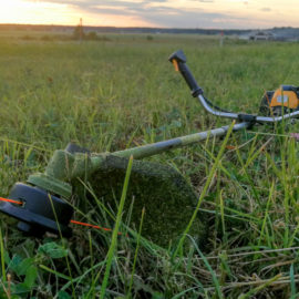 restring a weedeater