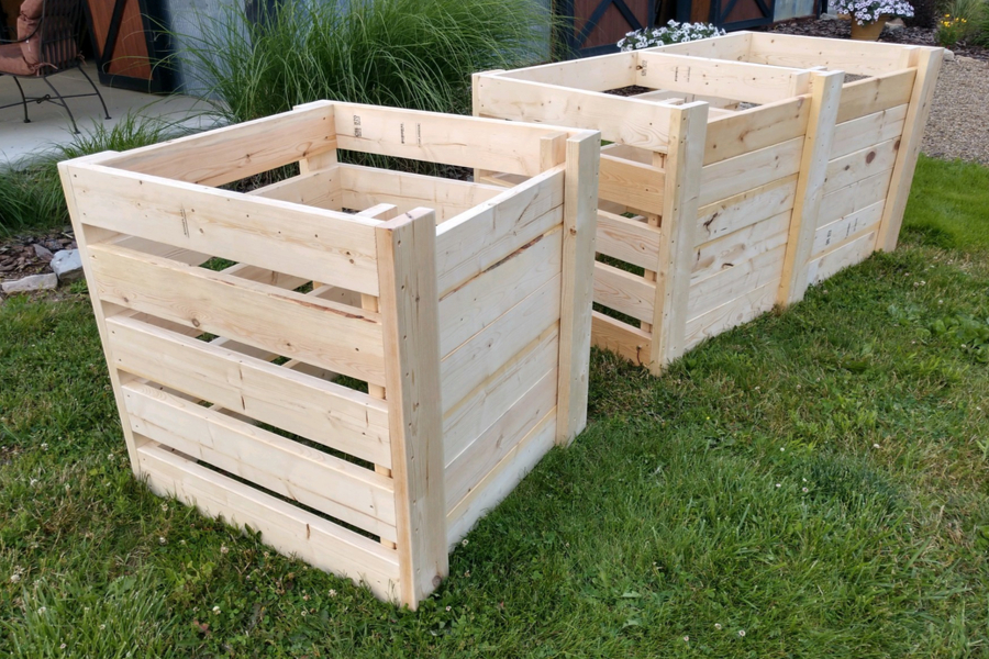 How To Create The Perfect Diy Compost Bins Attractive