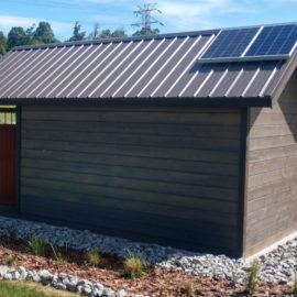 Install off grid solar power