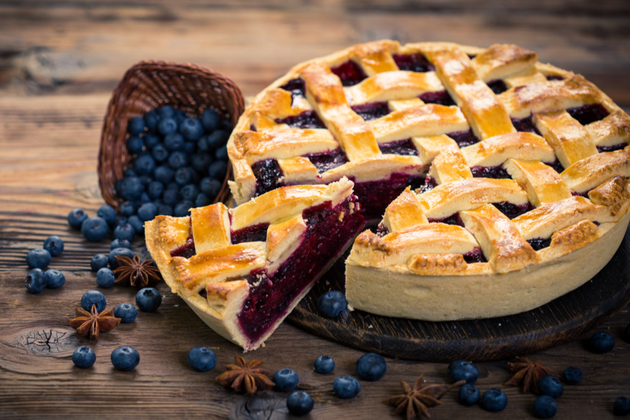Classic Blueberry Pie Recipe Old World Garden Farms