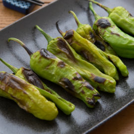Grilled Shishito Peppers – A  Healthy Appetizer From The Garden