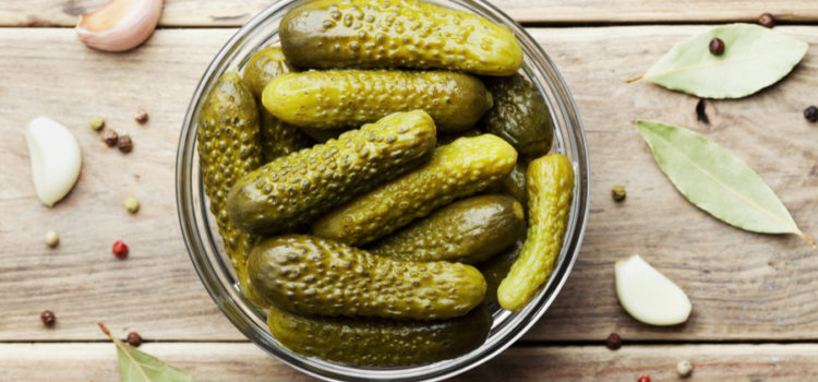 Homemade Gherkins Pickles