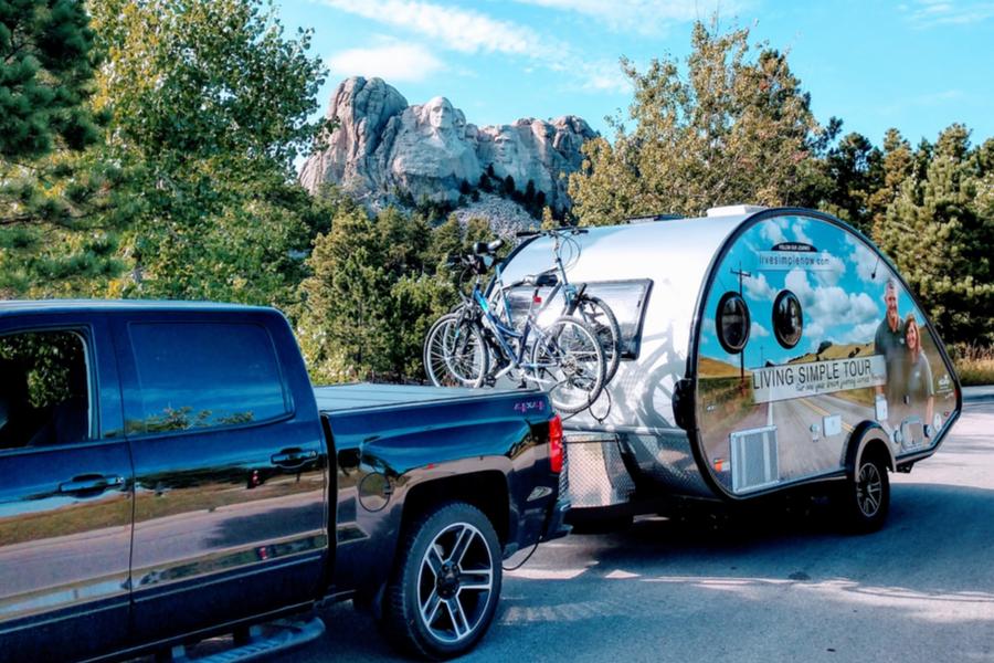 life in a teardrop camper