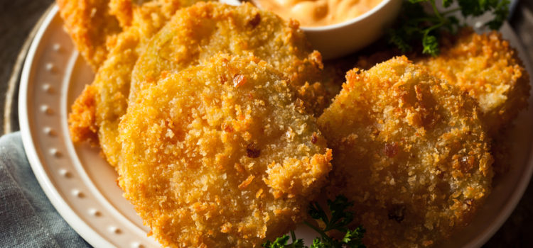 Air Fried Green Tomatoes Recipe
