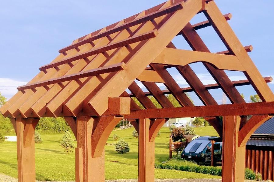 diy garden structure