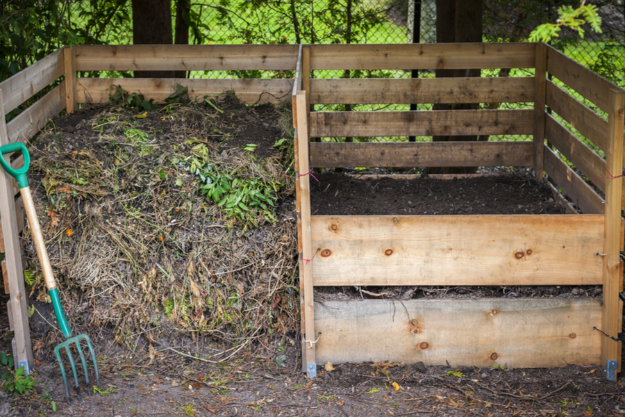 composting with two bins