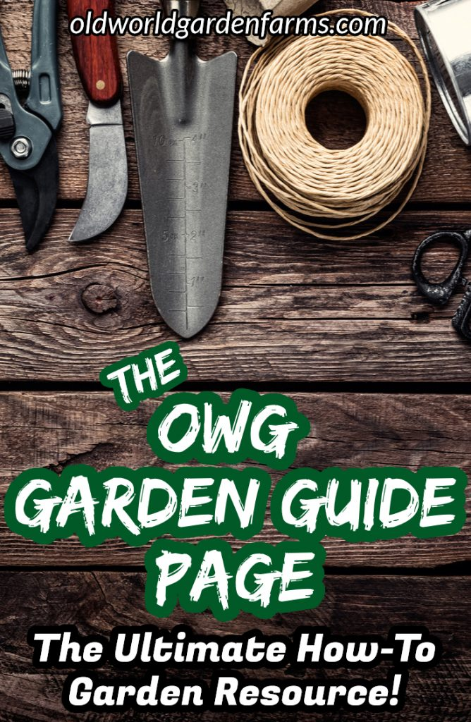 garden guide page