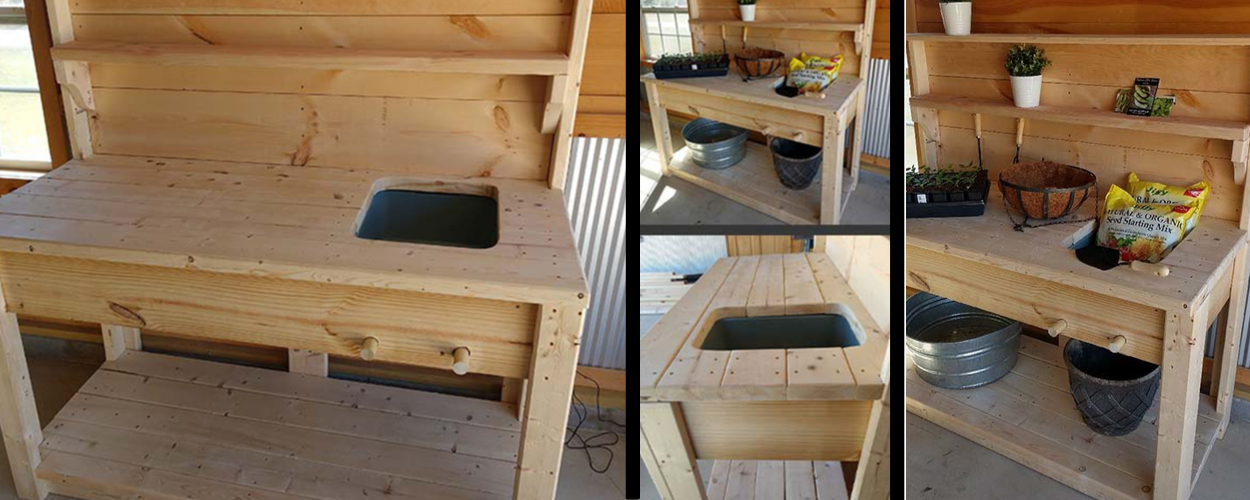 potting bench plans 2