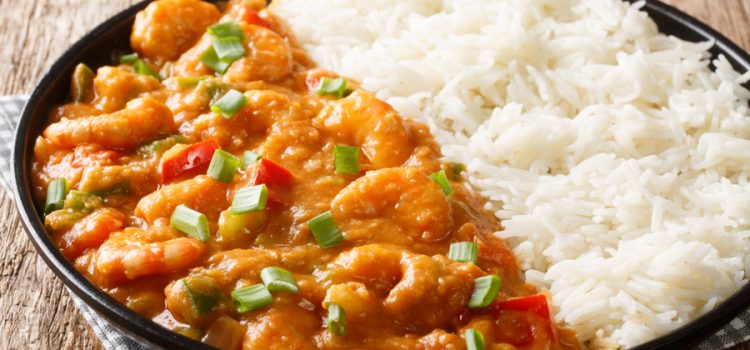 shrimp creole and rice