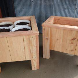 5 Gallon Bucket Planter Boxes