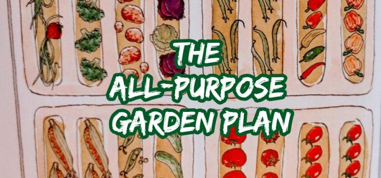 simple garden plan