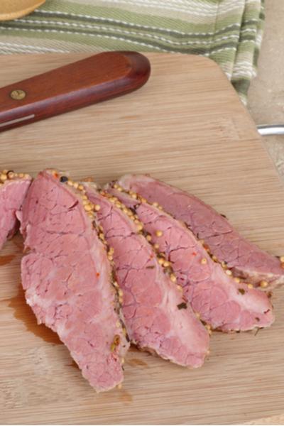 corned beef for best reuben sandwich