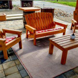 child size 2x4 adirondack chair