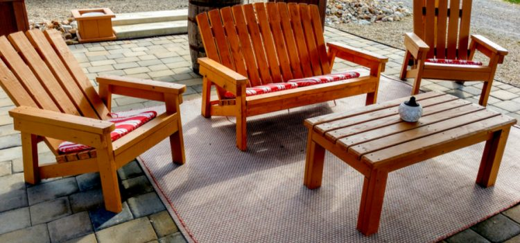 child size 2x4 adirondack chair