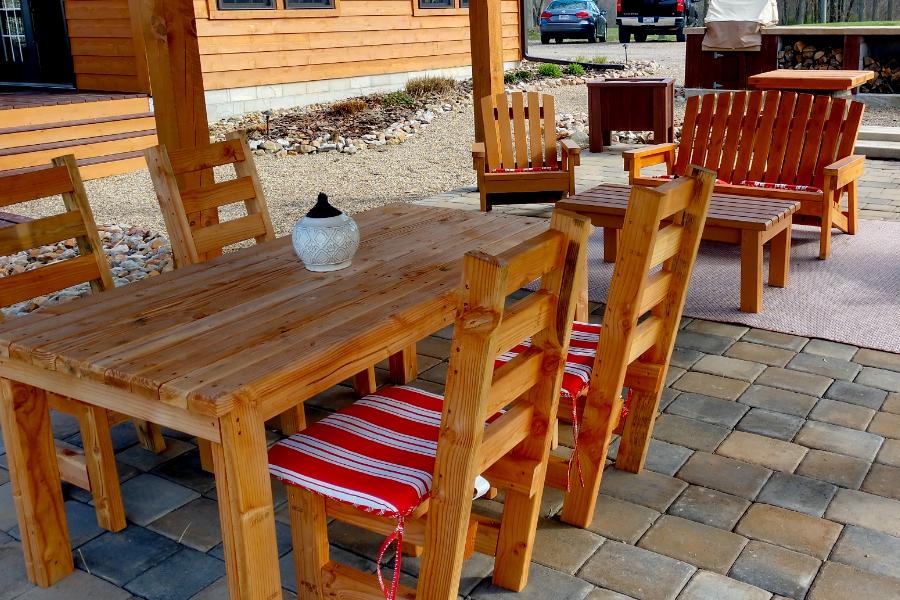 diy 2x4 porch furniture