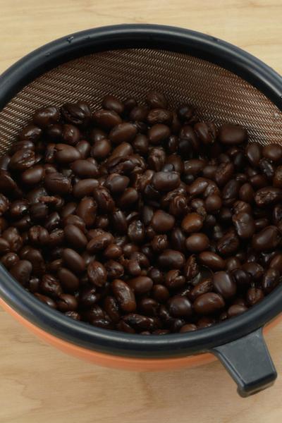 rinsed black beans for burrito bowl