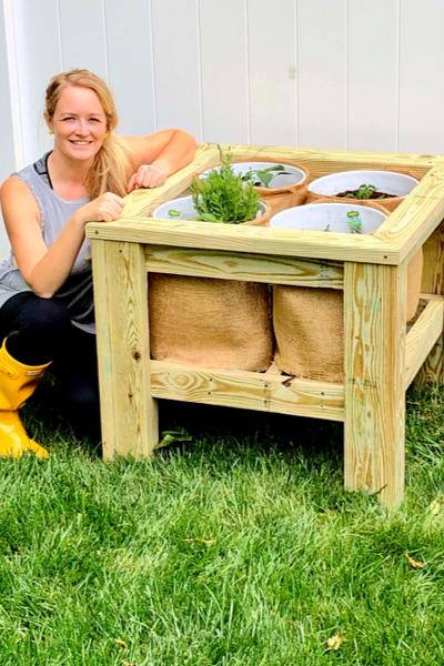 Bucket Planter Box