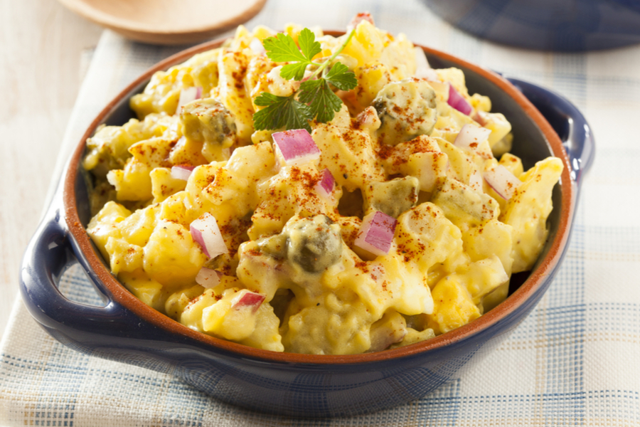 Amish Country Potato Salad Recipe Old World Garden Farms