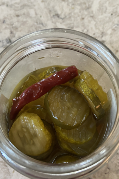 Famous Dave's pickles