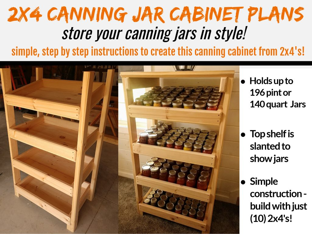 canning jar cabinet