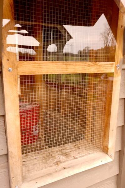 chicken coop window covers