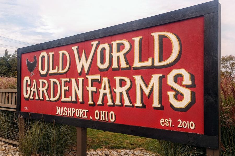old world garden farm