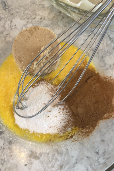 whisk ingredients
