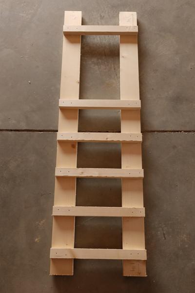 wine rack ladders