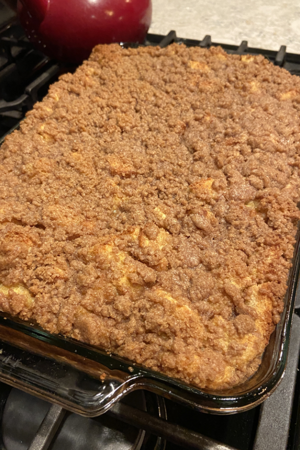 baked overnight french toast casserole