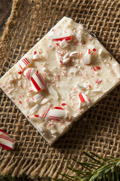 easy peppermint bark candy