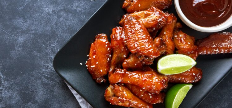 sweet chile chicken wings