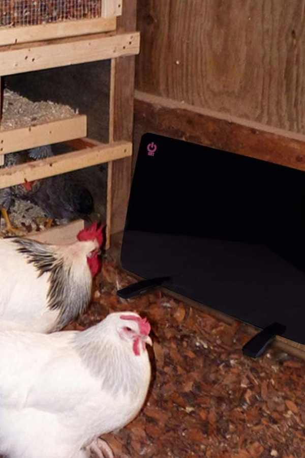flat panel chicken heater