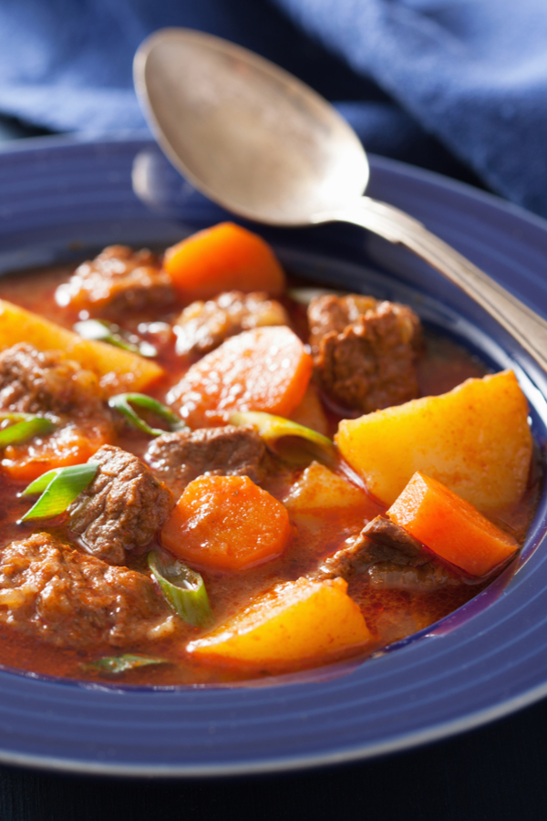 bowl of beef stew recipe without wine