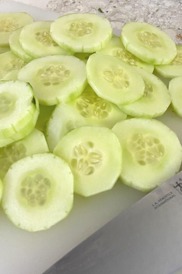 cucumber rounds