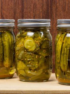 crispy dill pickles