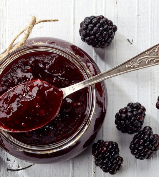 blackberry honey jam
