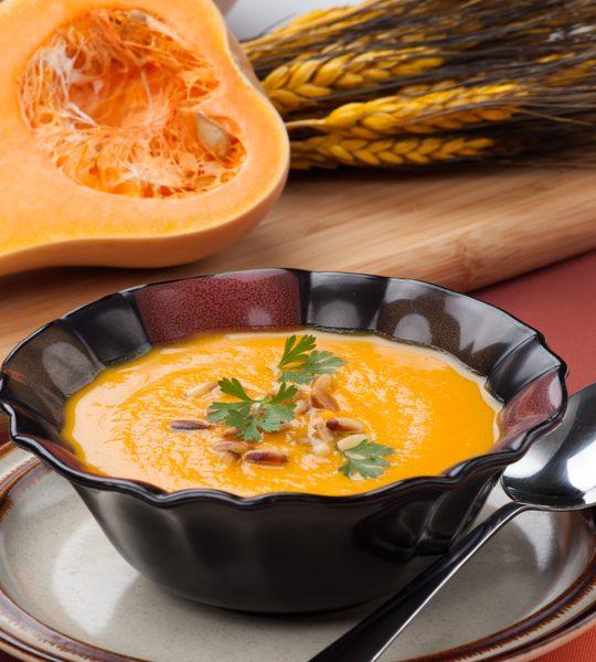 featured butternut squash soup